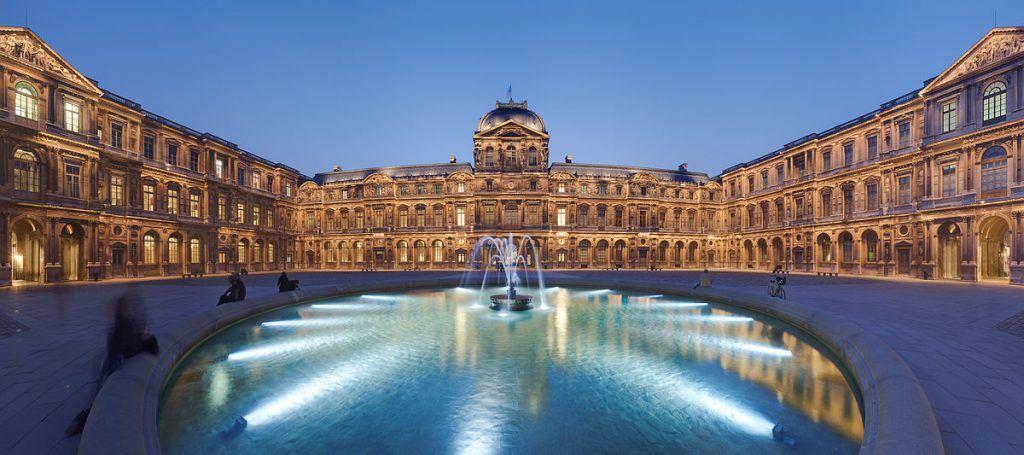 Cour carré du Louvres