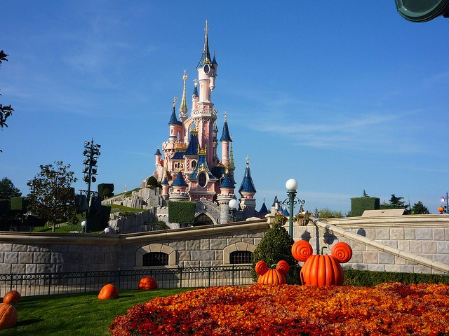 Parc Disneyland pendant haloween